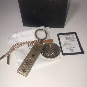Authentic MCM key chain purse bag charm